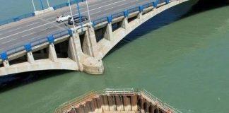 como são feitas as fundações de uma ponte
