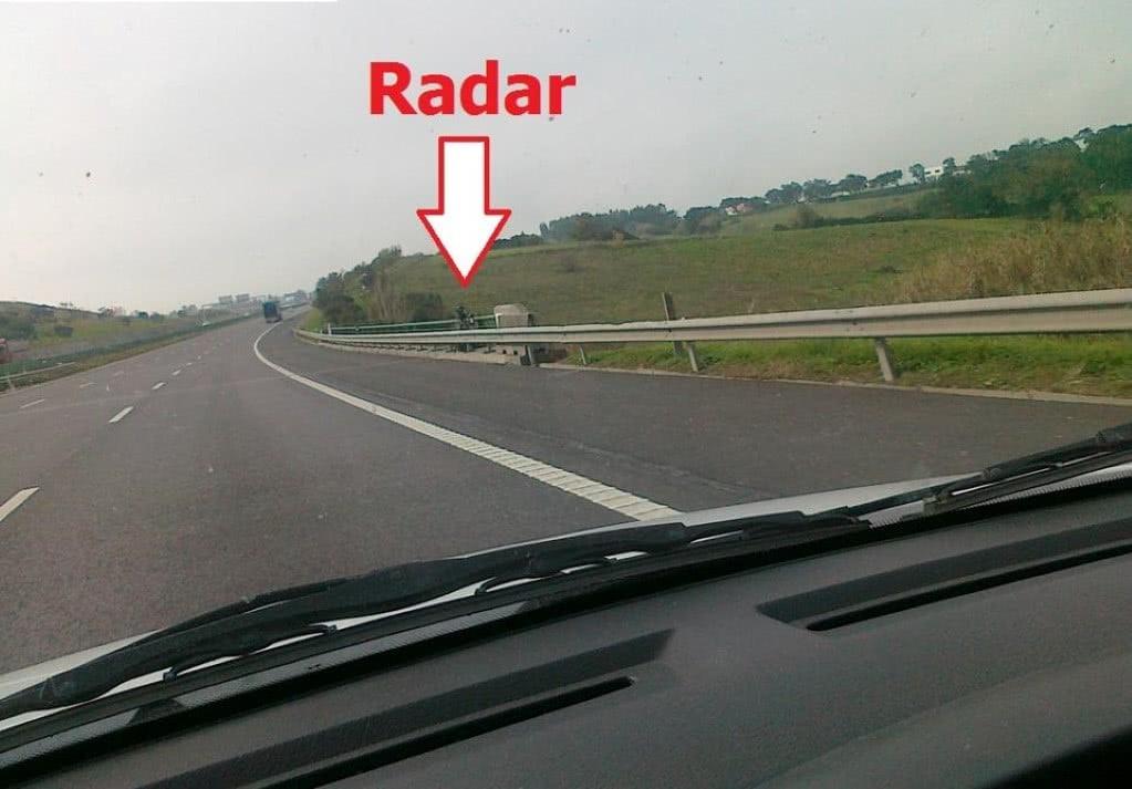 multado pelo radar