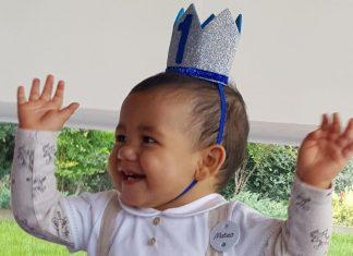 Filhos deCristiano Ronaldo comemoraram