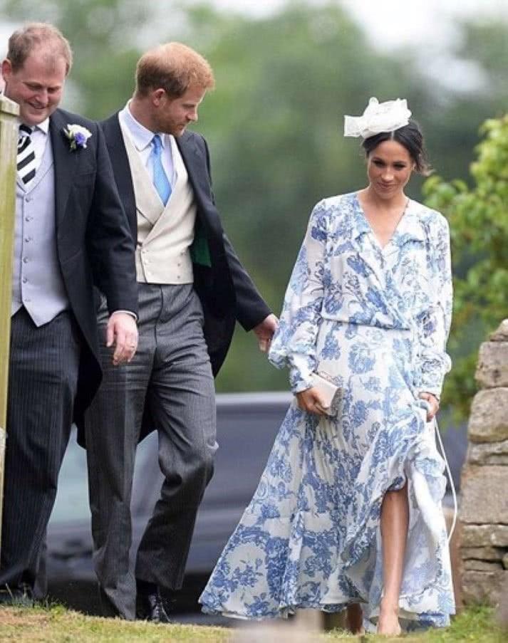 Vestido de Megan custou 4.500 euros