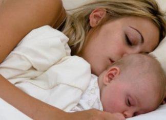 Ficar junto aos filhos até eles adormecerem