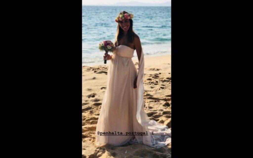 Liliana Aguiar partilha momentos do seu casamento