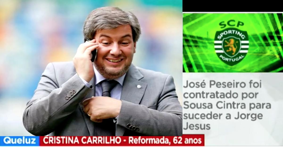 Bruno de Carvalho faz-se passar por espectador