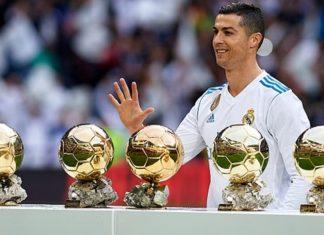 corrida de Ronaldo à Bola de Ouro