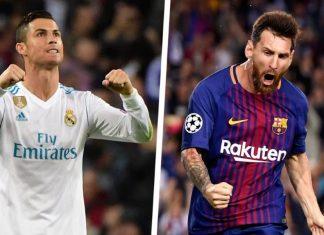 Ronaldo deixa mensagem a Messi