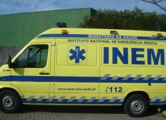 GNR chamou INEM mas multu a ambulância