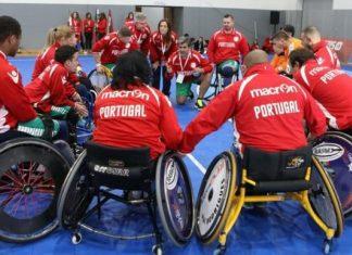 torneio europeu de andebol em cadeira de rodas