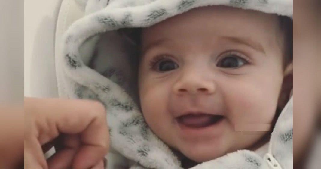 vídeo encantador da filha