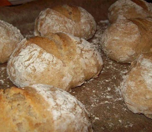 delicioso pão caseiro em apenas 5 minutos