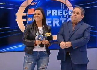 Fernando Mendes ficou boquiaberto com concorrente do Preço Certo