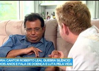 Músico Roberto Leal luta contra um cancro