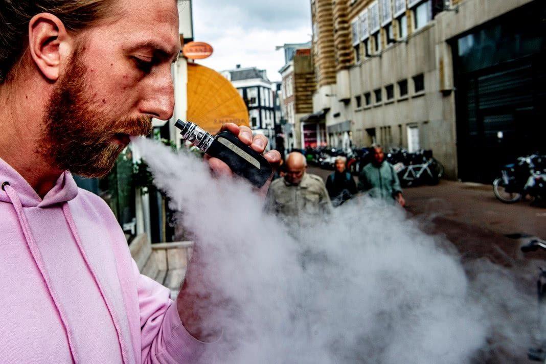 químico encontrado nos cigarros electrónicos