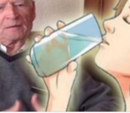 Água alcalina ajuda a envelhecer