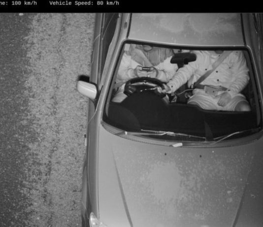 câmaras conseguem filmar condutores ao telemóvel
