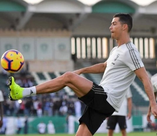 hino viciante sobre Cristiano Ronaldo