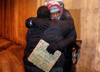 hotel para sem-abrigo não ficarem ao frio