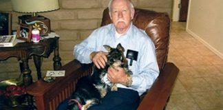 Homem com doença de Alzheimer