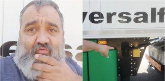 revolta de um camionista tuga
