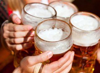 beber 3 litros de cerveja diariamente