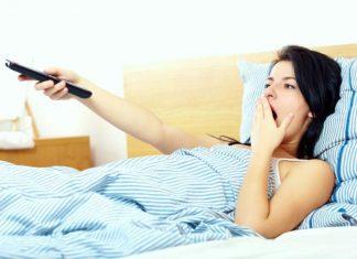Adormeceres com a TV ligada