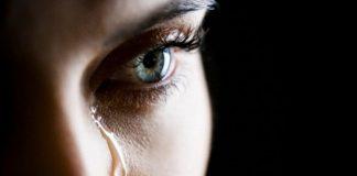 lágrimas de uma mulher