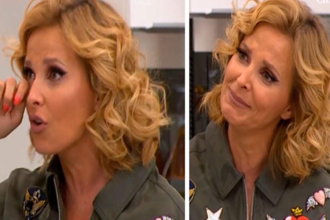 Cristina Ferreira emociona-se em directo
