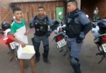 Policias compraram todos os gelados de adolescente