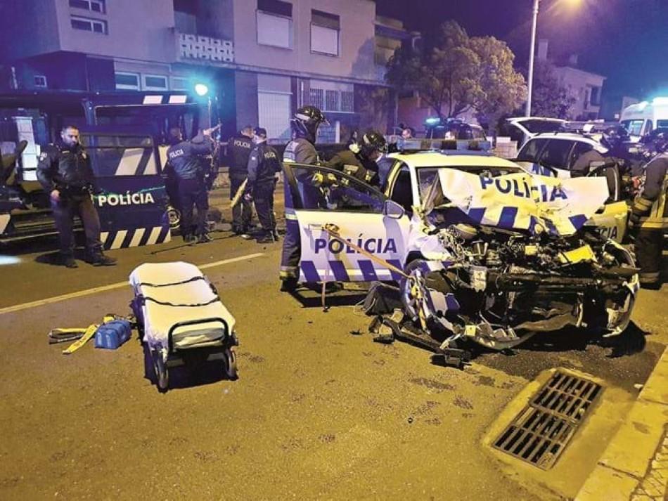 agente da PSP fere oito colegas de trabalho