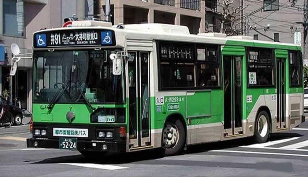 Motoristas de autocarros no Japão