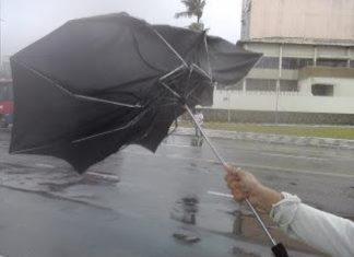 Prevista muita chuva para Portugal