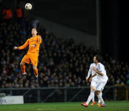 Salto de Cristiano Ronaldo
