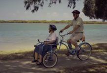 Marido inventa bicicleta especial