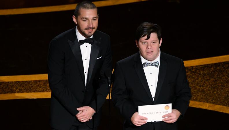 actor com síndrome de Down