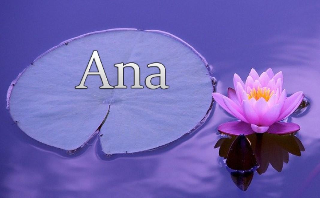 Tens uma Ana na tua vida