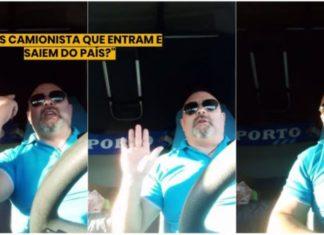 Camionista português opina sobre o CORONAVÍRUS