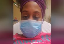 enfermeira infetada com Covid - 19