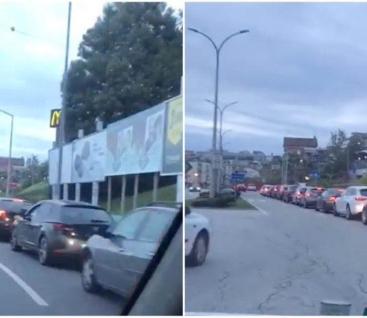 Filas gigantes para McDonalds