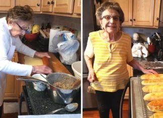 idosa dá inicio ao seu canal de culinária