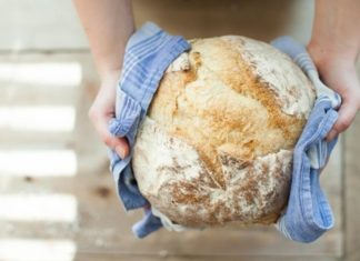 pão pronto em 15 minutos