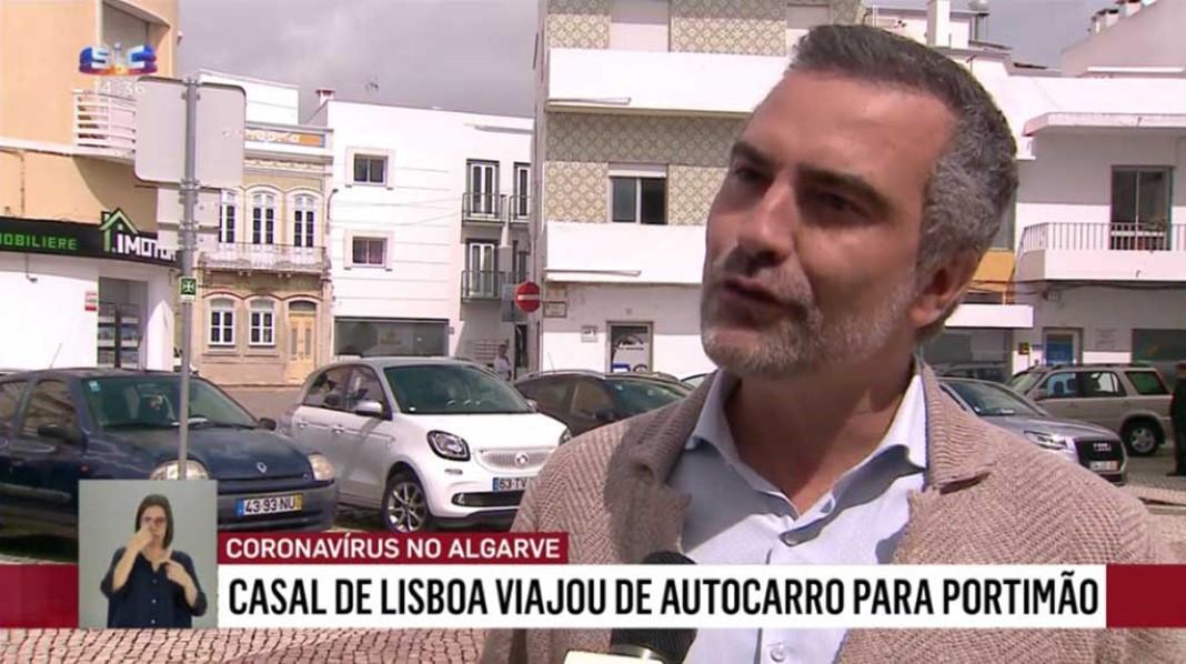 Casal infetado foi de férias para o Algarve