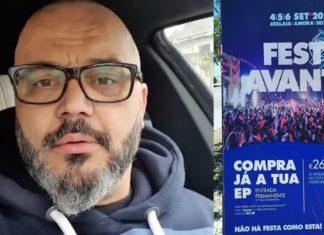 Fernando Rocha revoltado