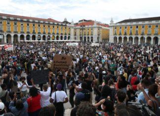 marcha contra racismo encheu ruas de Lisboa