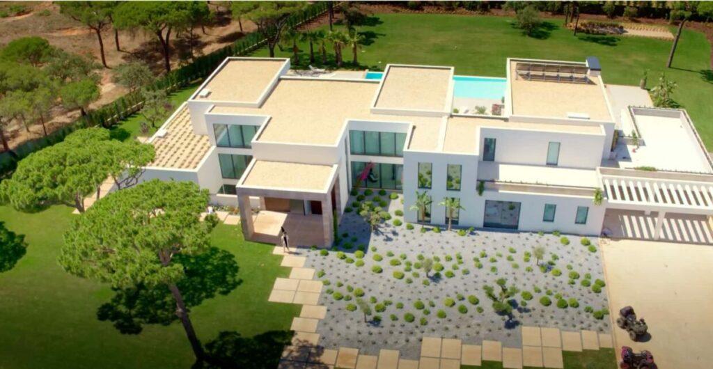 mansão de luxo de Tony Carreira