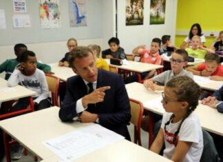 escolas encerradas em França