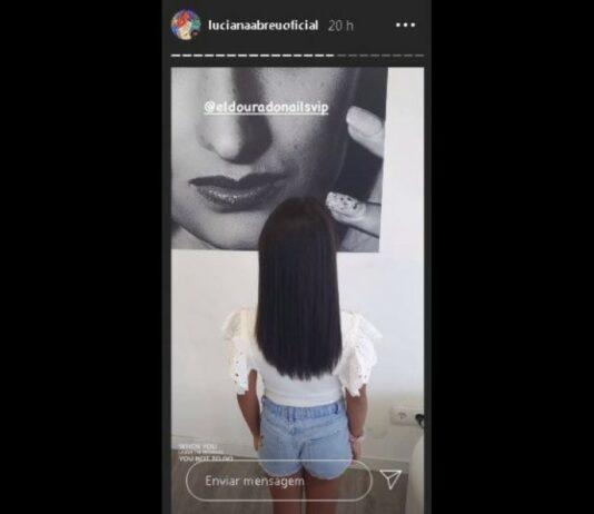 Luciana Abreu publica novo visual da filha