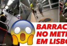 Passageiro do Metro de Lisboa