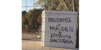 Mensagens pintadas em Aljezur