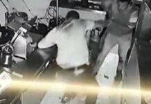 Vídeo mostra as agressões selvagens ao dono de restaurante em Odivelas
