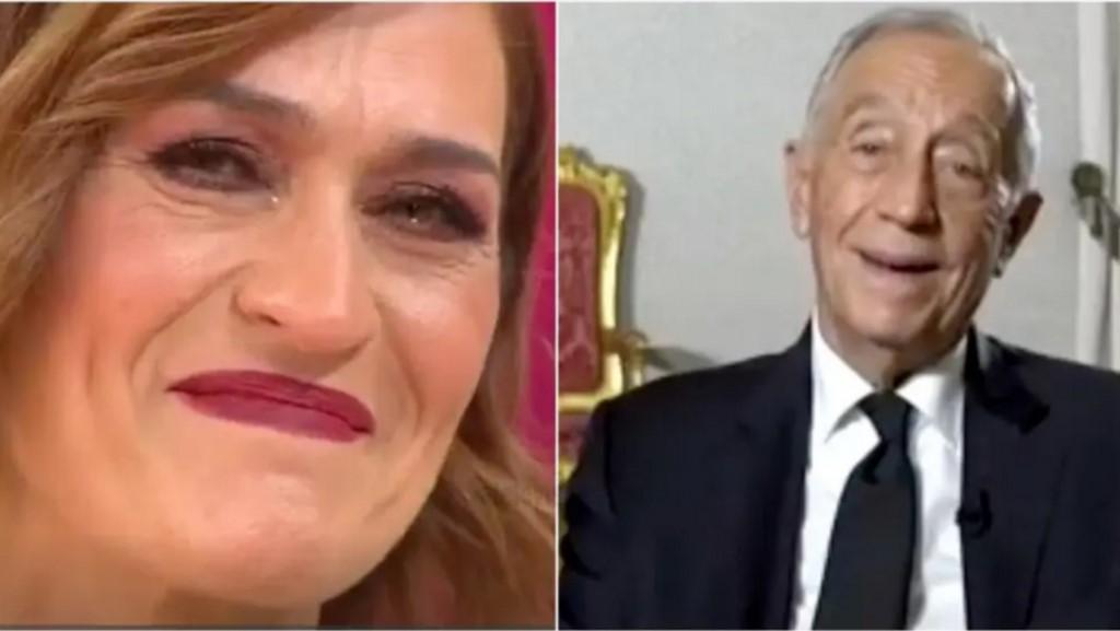 Fátima Lopes emociona-se com mensagem
