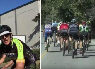 Grupo de ciclistas julga que manda na estrada